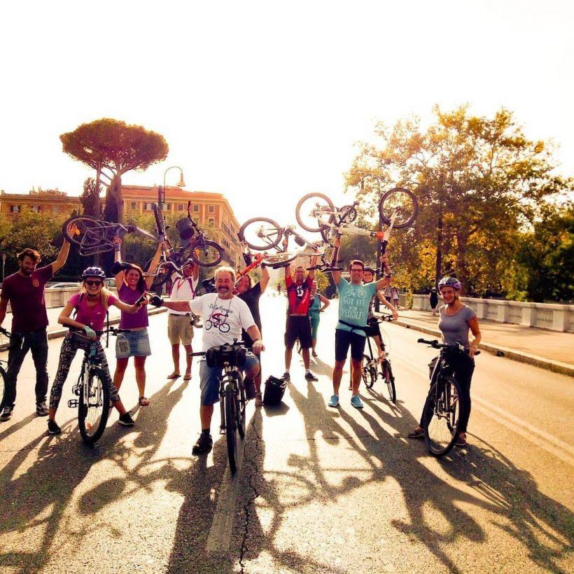 Salvaiciclisti Roma